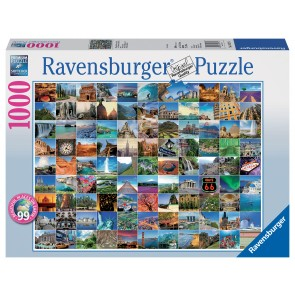 Rburg - 99 Most Beautiful Places Puzz 1000pc